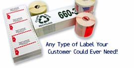 Labels header graphic 2